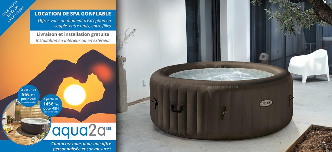 location spa aqua2a. Black Bedroom Furniture Sets. Home Design Ideas